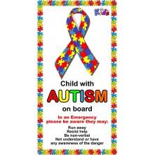 Autistic Car Sticker