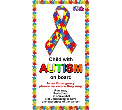 Autistic Car Sticker * Special Promotion *