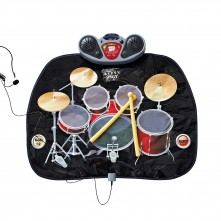 Childs Drum Kit Playmat with MP3