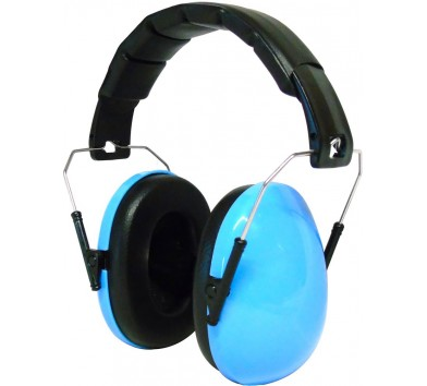 Kids Ear Defenders Blue Gloss ( NO LOGO )
