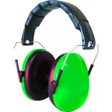 Kids Ear Defenders Green Gloss ( NO LOGO )