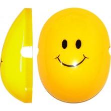 Edz Capz Yellow Smiley Face