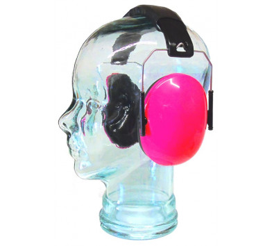 Kids Ear Defenders Pink Gloss ( NO LOGO )