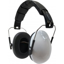 Kids Ear Defenders White Gloss ( NO LOGO )