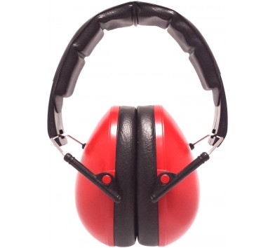 Kids Ear Defenders Red 36 Pack