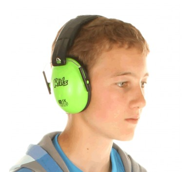 Kids Ear Defenders Green 6 Pack