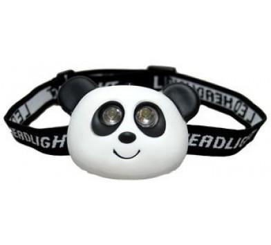 Childrens Panda 2 LED Head Torch