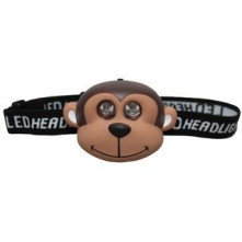 Childrens Monkey 2 LED Head Torch