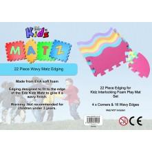 Edz Matz Foam Matting (Wavy Matz Edging)