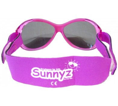 Sunnyz Sunglasses Fuchsia Pink AC60's