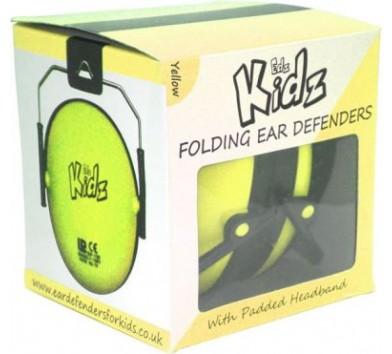 Kids Ear Defenders Yellow 6 Pack