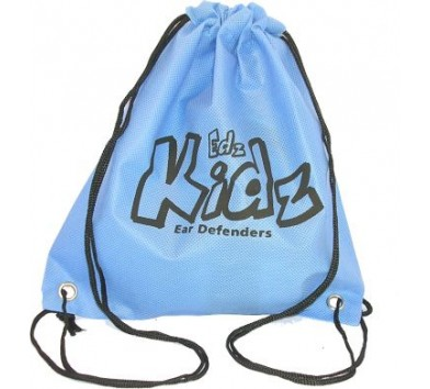 Draw String Bag Blue