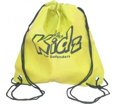 Draw String Bag Yellow