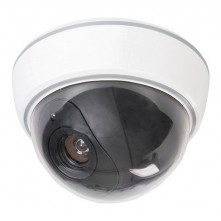 Dummy Security Dome Camera with LED
